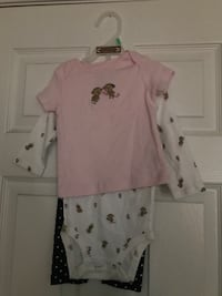 Baby girl outfit (6-9 months)