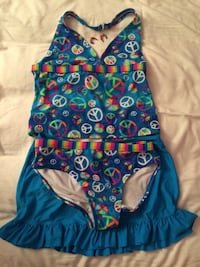 3 pieces girl swimsuit size 16 1/2