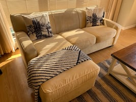 Beige Sectional (left and right facing)