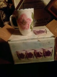 white and pink cups  Granby, 64844