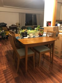 FREE table with 4 chairs New Westminster, V3L 1B8
