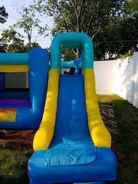 blue, yellow, and orange inflatable slide Rockville, 20853