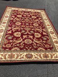 Brand new traditional design area rug size 5x8 nice red carpet rugs carpets  20 mi