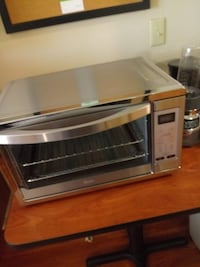 Gray and black convection oven Brand New Never Been Used Kansas City, 64131