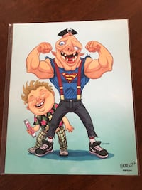 "Goonies ""Chunk and Sloth"" Bam Box Fan Art Brant, N0E 1R0"