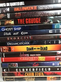 Horror and cult classic DVD's Frederick, 21702