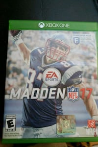 Madden NFL 17 Xbox One game case Athens, 37303