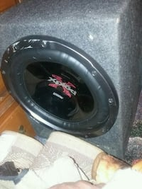 black and gray Pioneer subwoofer Springfield