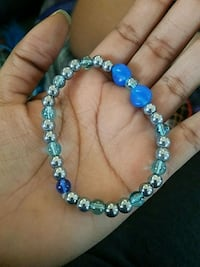 beaded blue and silver-colored bracelet Richmond, 23234