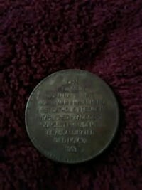 Back of JFK Coin