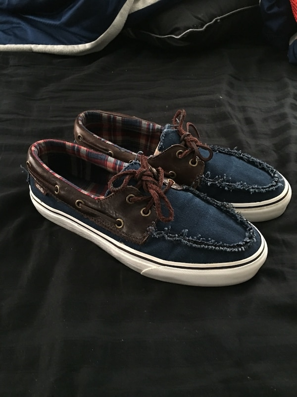 b629a074d1 Used Vans boat shoes for sale in New York - letgo