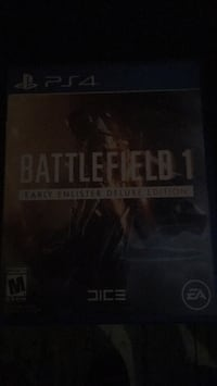 Battlefield 1 ps4 game Kissimmee, 34744