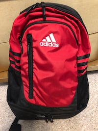 Red Adidas backpack Garden City, 67846