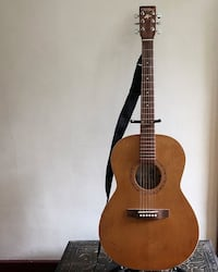 Cherry Acoustic + Case - Made in Quebec - $400 Vancouver, V5N 1Y9