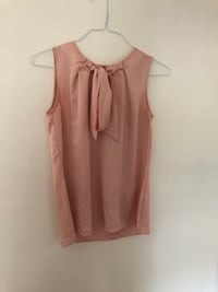 Tommy Hilfiger Sleeveless Pink Top