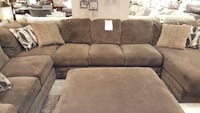 LARGE Sectional. Plush Brown. Extra pieces incld Des Moines, 50320