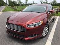 2014 Ford Fusion Red Tallahassee, 32304