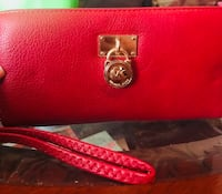red leather Michael Kors wristlet Zolfo Springs, 33890