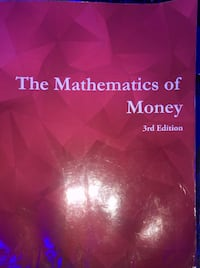 The Mathematics of money 3rd edition