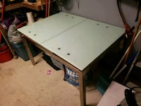Modern Glass Top Dining Table 540 km
