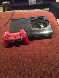Black sony ps3 with one controller and games Lethbridge, T1K 3M2