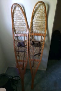Antique snow shoes good for cabin design