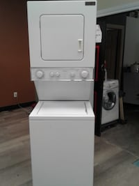 "washer whirlpool 24"" stackable white تورونتو"