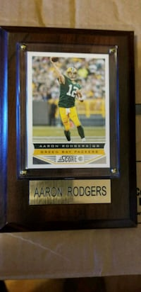 Arron Rodgers Football Milwaukee, 53208