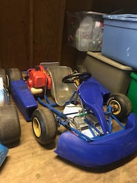 blue and black ride on toy car Nutter Fort, 26301