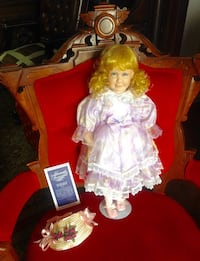 "LIMITED EDITION PORCELAIN DOLL FROM ""MOMENTS TREASURED  WITH BOX  Toronto, M5A 2P4"