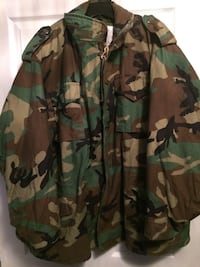 Mens camouflage jacket  542 km