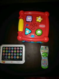 VTech, Leap Frog, and Fisher Price Houston