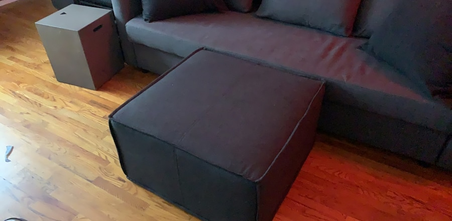 Modern Ottoman Soft Coffee Table  Room And Board