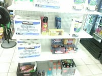 3 convenience store display shelves Toronto, M1S 1T3