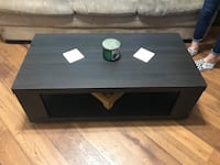 rectangular black wooden coffee table Safety Harbor, 33759