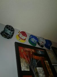 Over a hundred different hats