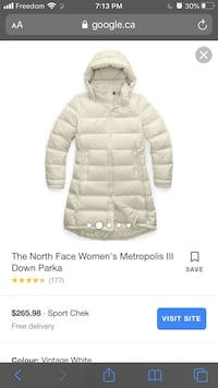 North face down jacket  Toronto, M3N 1T4