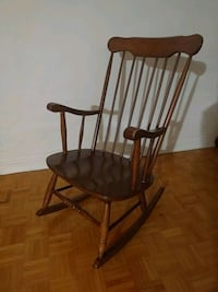 Rocking wooden chair Toronto, M9A