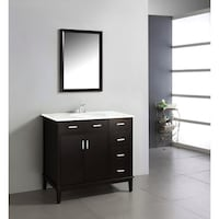 Simpli Home Urban Loft 36 inch Vanity  Washington