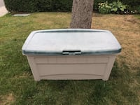 Large Outdoor Deck Storage Bin Container (cleaned) Toronto, M4V