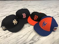 4 New Era BB Hats Greenwich