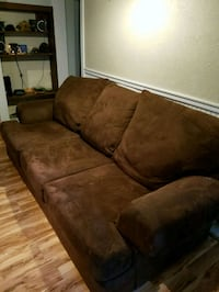 Full sized brown couch Monmouth, 97361
