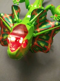 Remote Light up walking toy Lizard