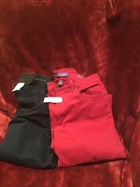 Red and black polo shirt Deer Park, 77536
