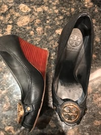 Tory Burch wedge shoes $100 Vaughan, ON, Canada