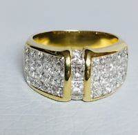 18K Solid Gold, 3 1/2 Carat Diamond Ring Size 7 (Appraised $6100) Hickory, 28601