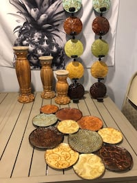 Home Decor / candle holders / wall decor