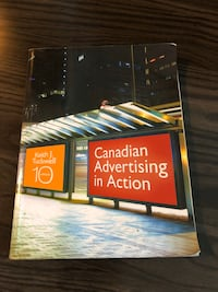 Canadian Advertising in Action 10th Ed. Richmond Hill, L3T 0B8