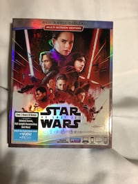 Star Wars The Last Jedi Blu-ray  Clovis, 88101