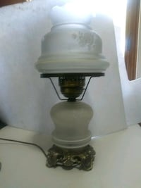 Colonial white smoked white rose table lamps Deptford Township, 08096